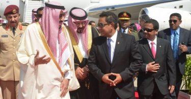 Saudi King and President Yameen