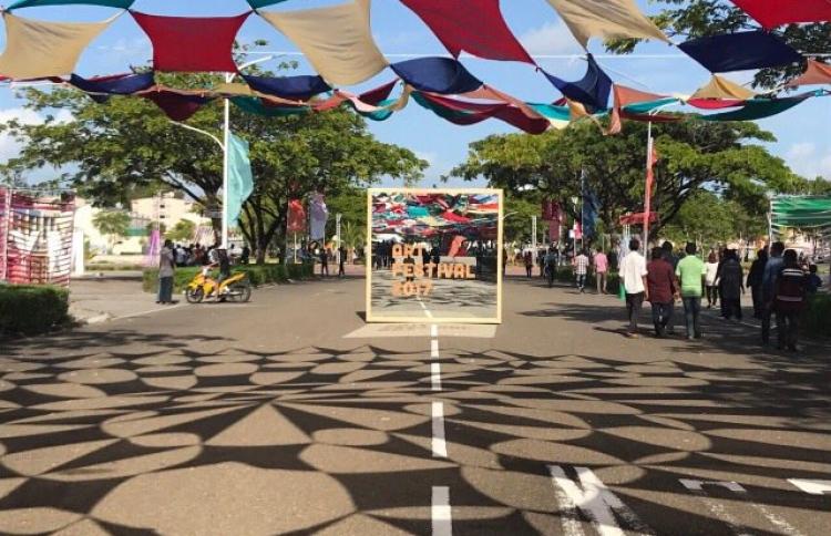 Entrance of the Art Festival