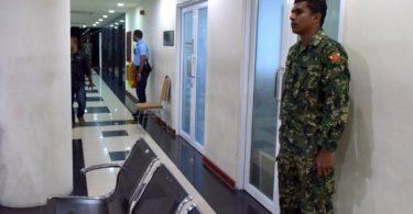 mmprc offices under mndf gaurd