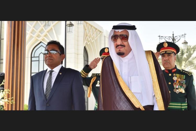 Presidnet Yameen and Saudi King