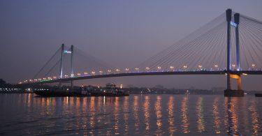 Vidyasagar Setu -River Hooghly Kolkata