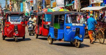 Road in Sri Lanka