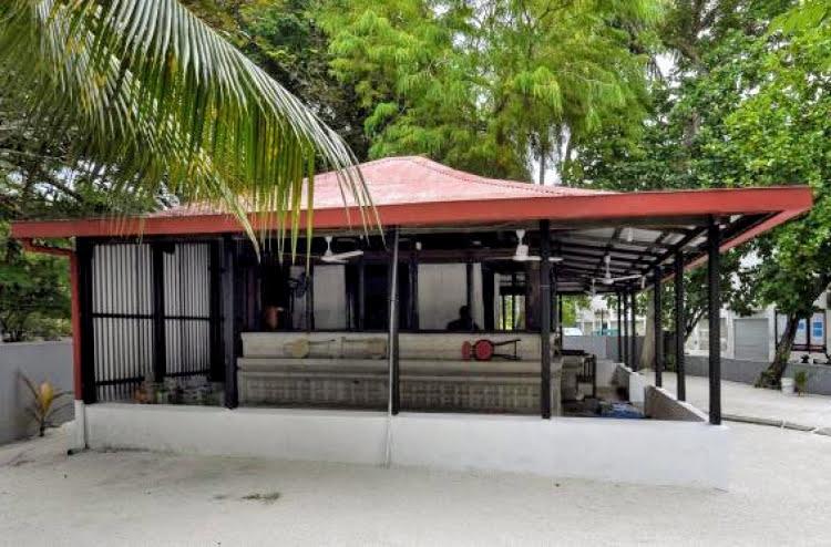 Kalhuvakaru Miskiy before being dismantled