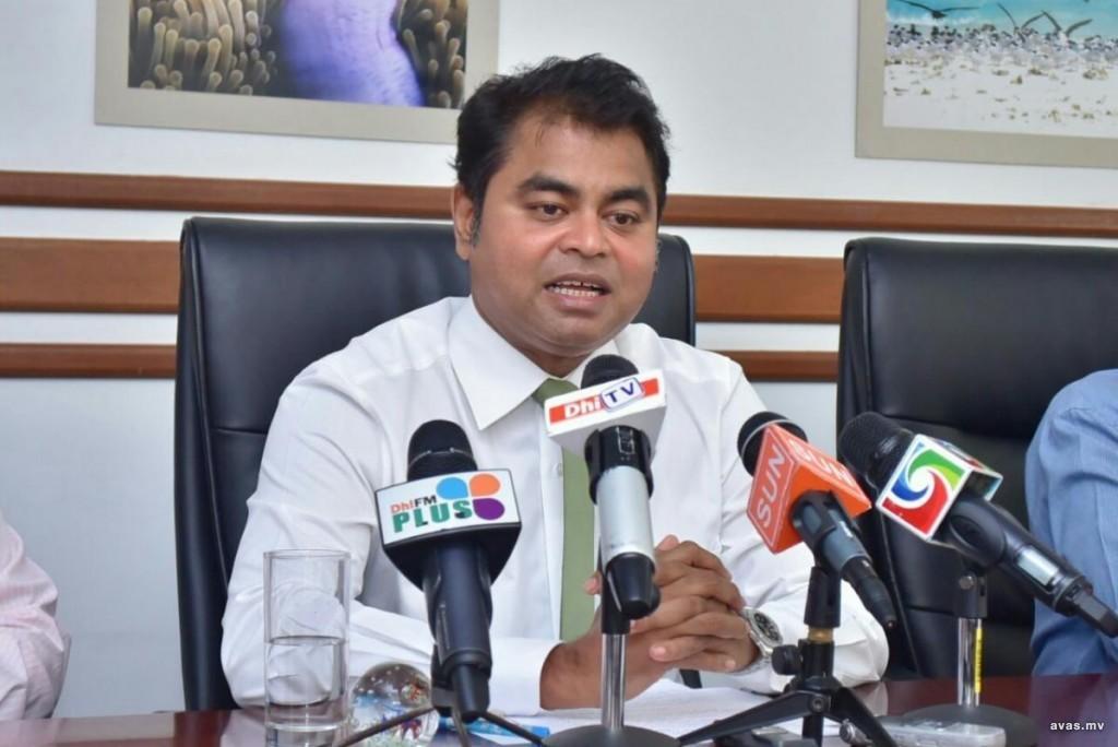 Environment Minister Thoriq Ibrahim