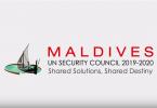 maldives UNSC campaign
