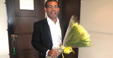 Former President Mohamed Nasheed