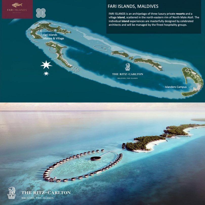 Fari Islands Maldives and Ritz Carlton Maldives Fari Islands