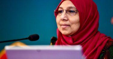 Gender Minister Aishath Mohamed Didi