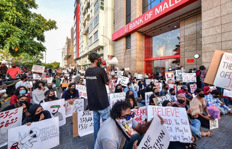 safari rape case protest